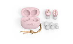 Sudio Tolv True Wireless In-Ear Mic Pink