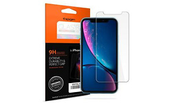 Spigen Apple iPhone XR Slim Tempered Glass Screen Protector