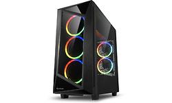 Sharkoon REV200 RGB Window Black