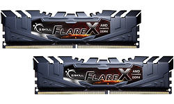 G.Skill Flare X Black 32GB DDR4-3200 CL16 kit