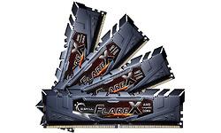 G.Skill Flare X Black 32GB DDR4-3200 CL16 quad kit