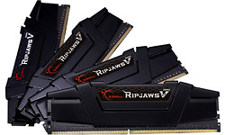 G.Skill Ripjaws V Black 64GB DDR4-3600 CL16 quad kit