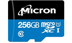 Micron Industrial MicroSDXC UHS-I 256GB Black/Blue