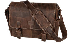 Dörr Kapstadt Leather Photobag Medium Vintage Brown