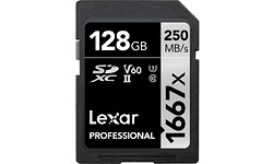 Lexar Professional SDXC 1667x UHS-II 128GB