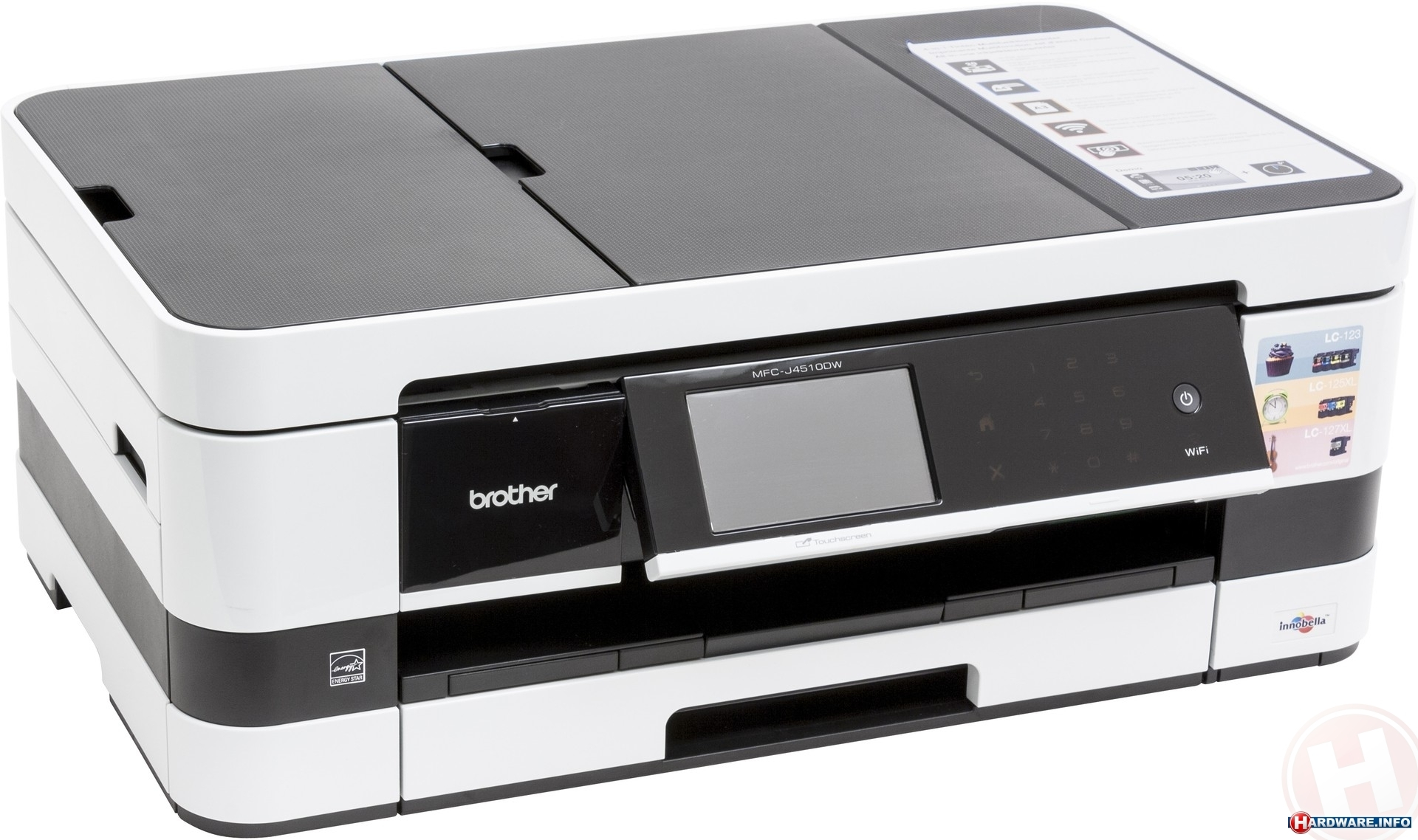 Brother MFC-J4510DW printer/all-in-one - Hardware Info