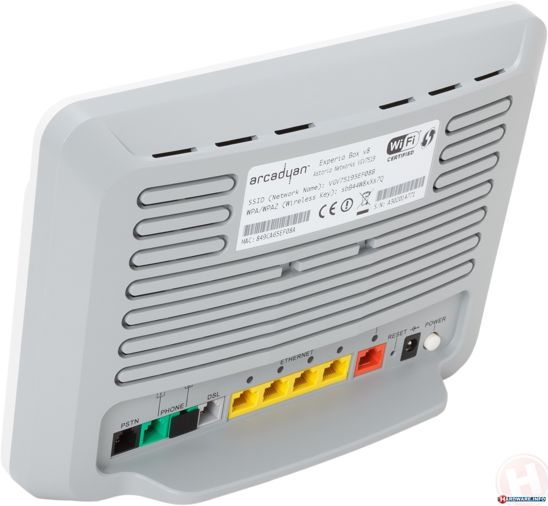Wonderbaarlijk Arcadyan KPN Experia Box v8 router - Hardware Info IV-26