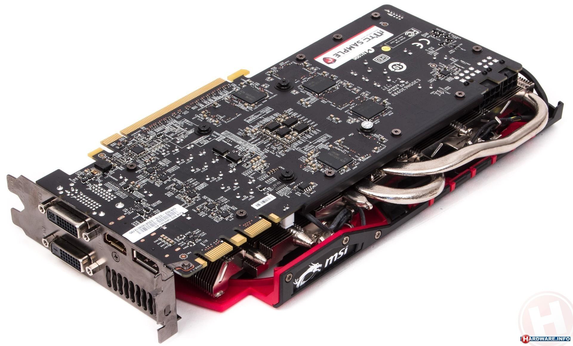MSI GeForce GTX 970 Gaming 4GB videokaart - Hardware Info