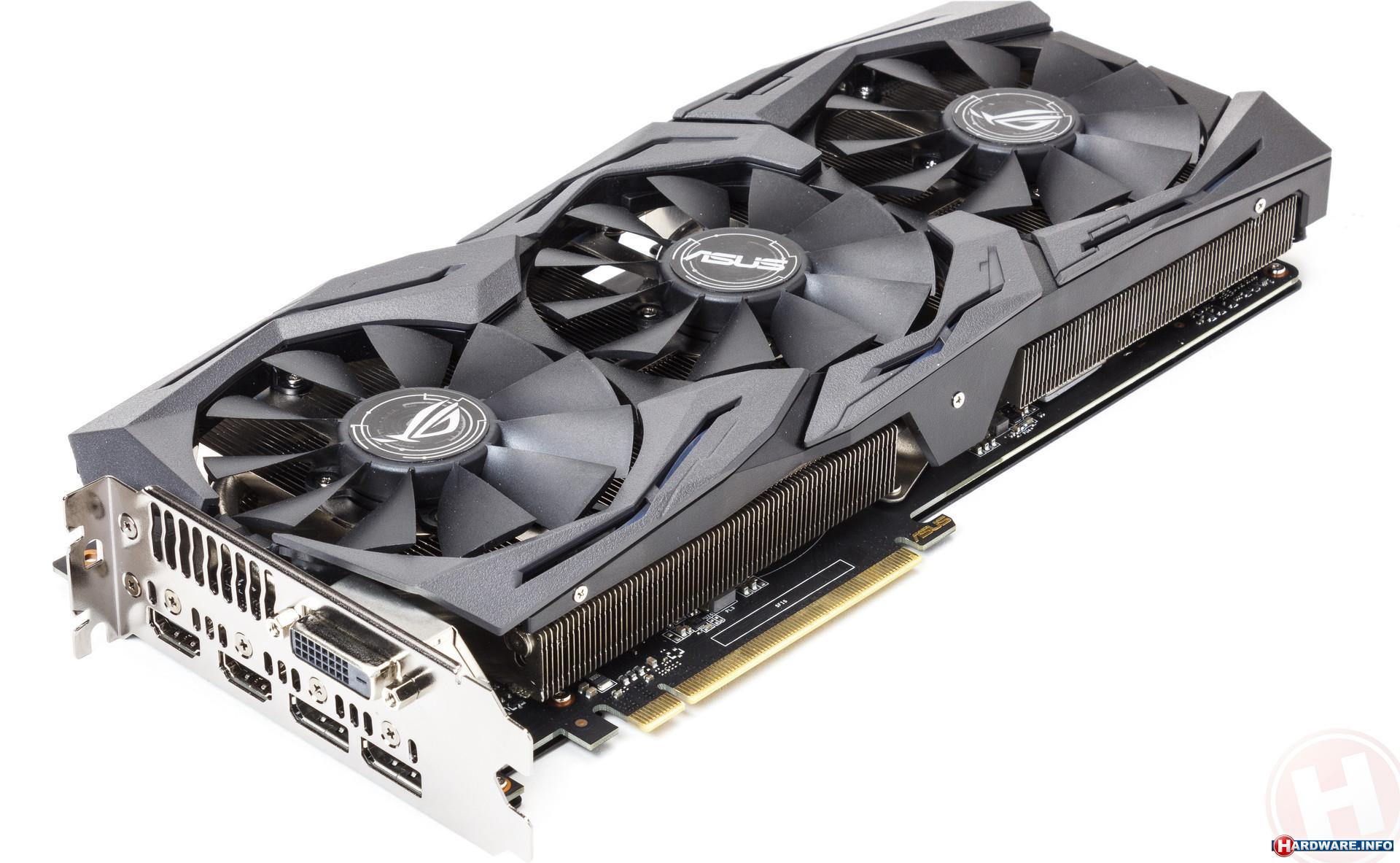 Asus GeForce GTX 1060 Strix OC 6GB