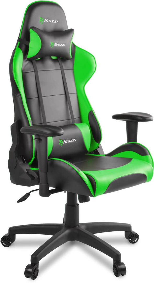 Surprising Arozzi Verona V2 Gaming Chair Black Green Gamestoel Pabps2019 Chair Design Images Pabps2019Com