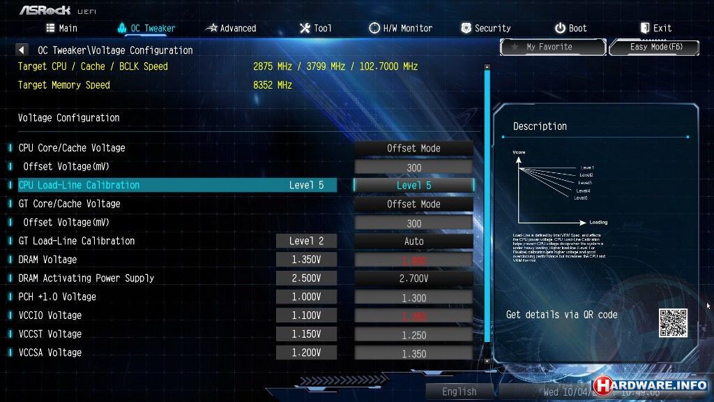 ASRock Z370 Extreme4 moederbord - Hardware Info