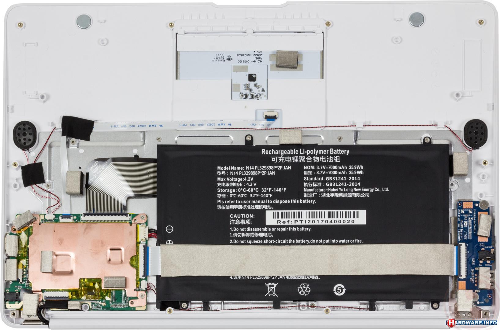 It-works GTN-1401 laptop/tablet - Hardware Info