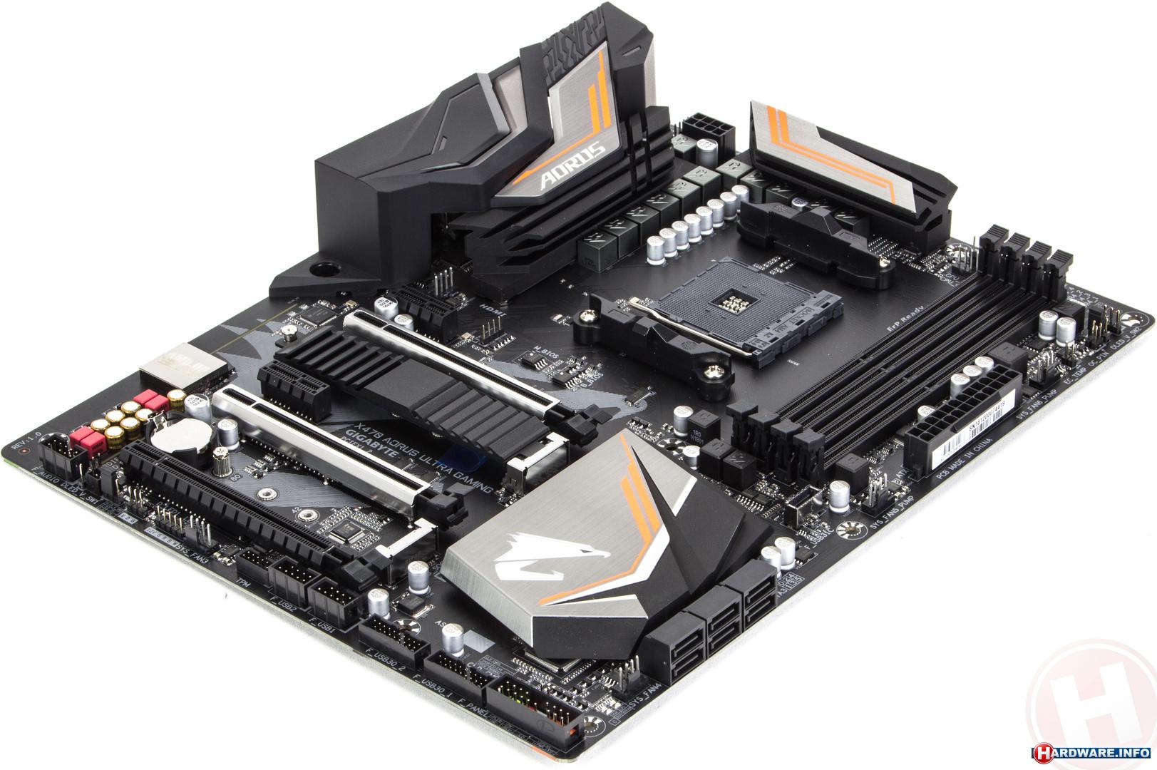Gigabyte X470 Aorus Ultra Gaming moederbord - Hardware Info