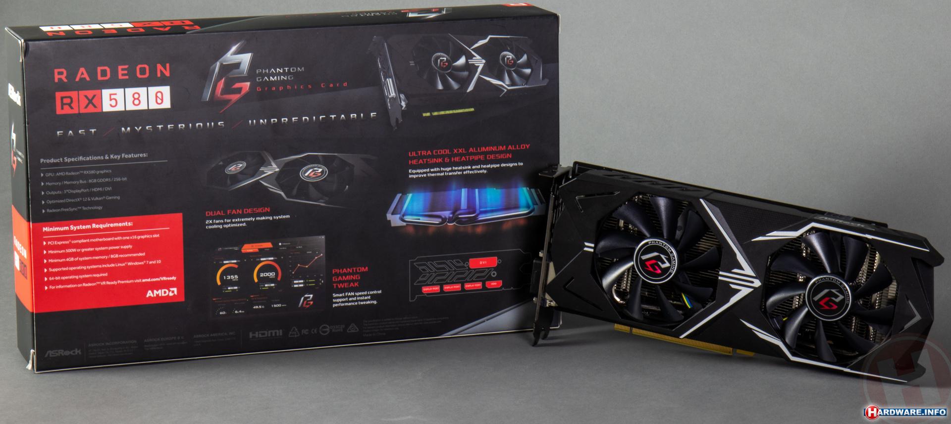 ASRock Radeon RX 580 Phantom Gaming X OC review: de eerste