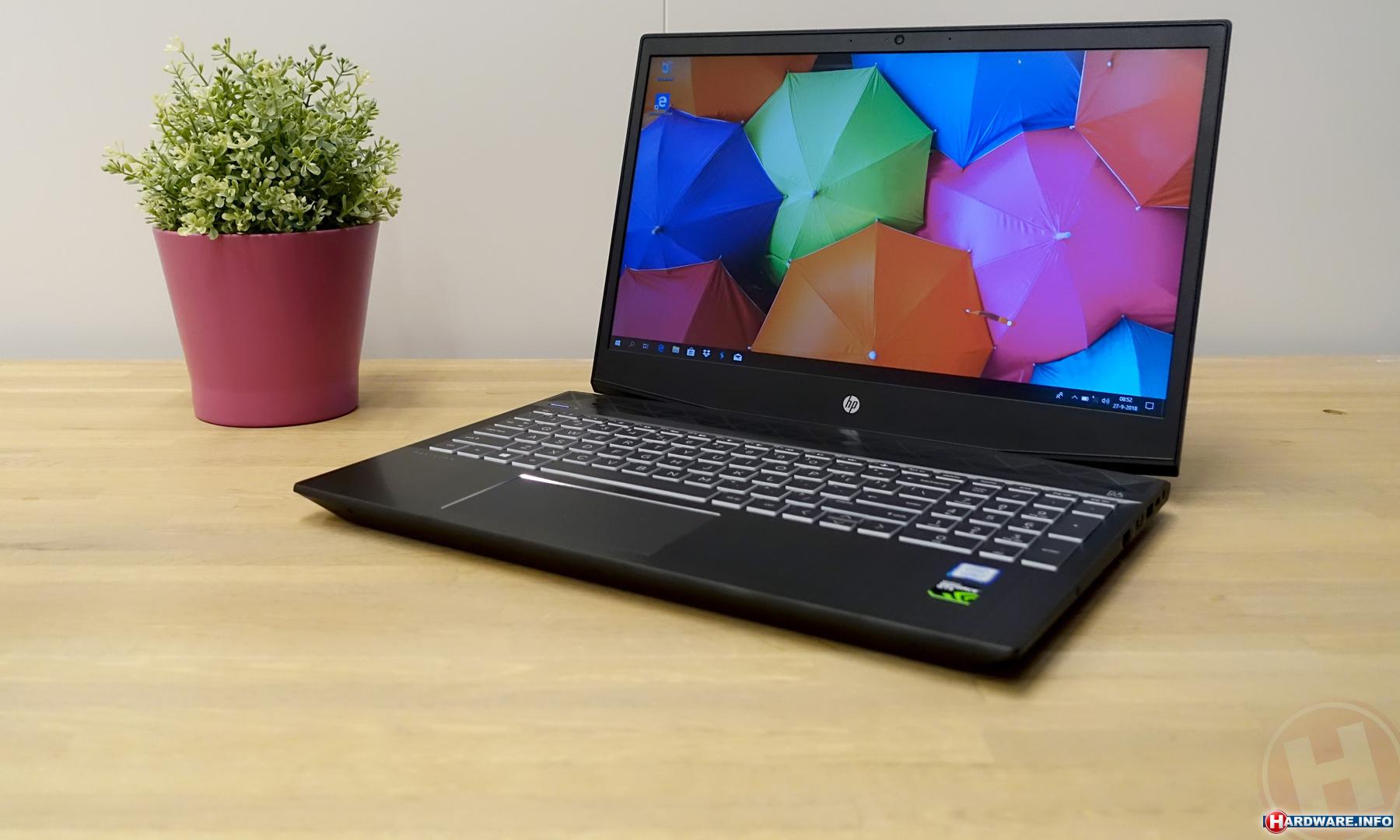 Hybrid gaming en studie laptop voor middelbare scholieren - HP Pavilion G15