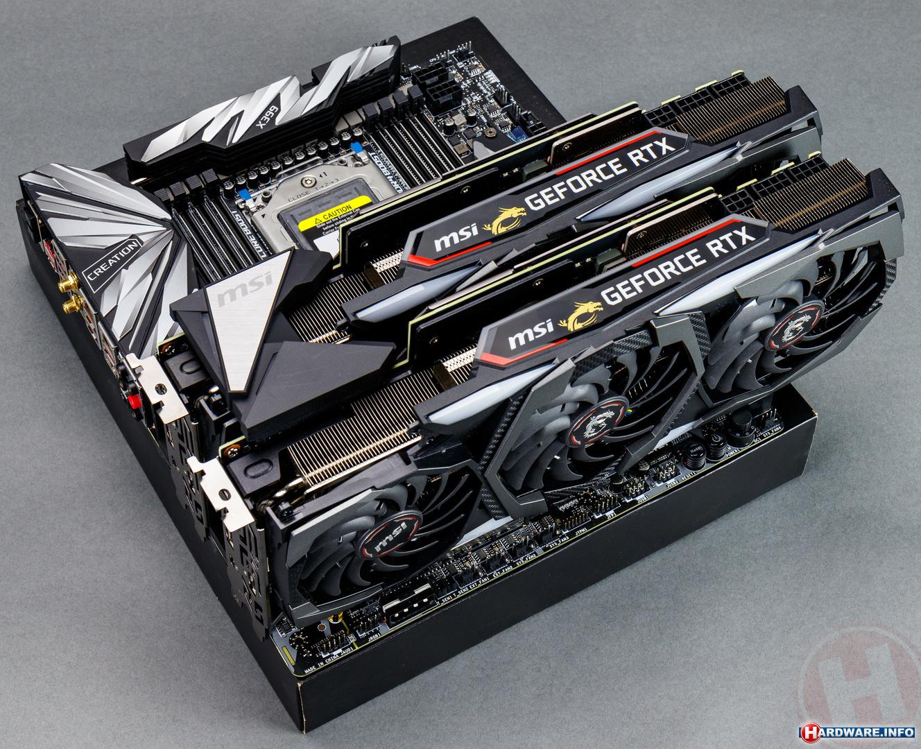 Nvidia GeForce RTX 2080 Ti SLI review: Turing in tweevoud