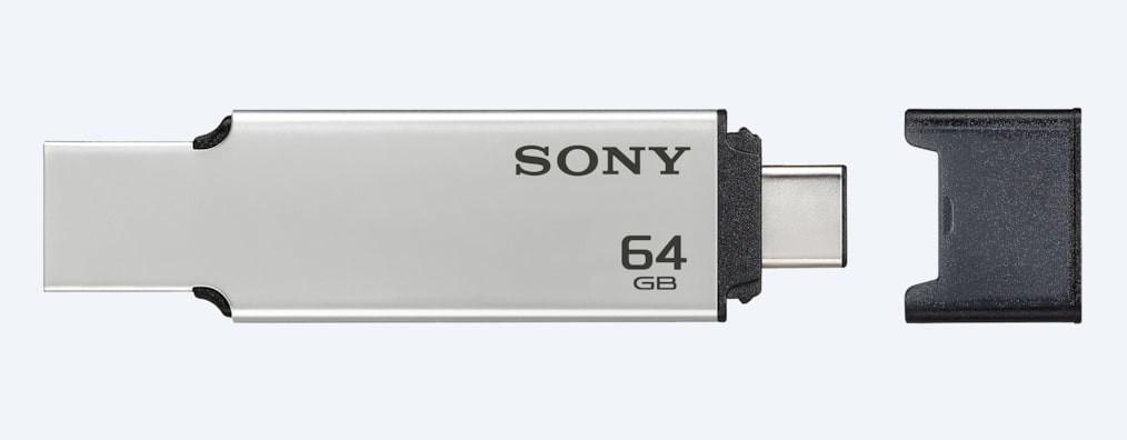 Sony 16GB 32GB 64GB USB 3.1 Gen 1 USB Type-C and Type A USB Drive USM-CA2