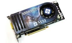 MSI NX8800GTS-T2D640E