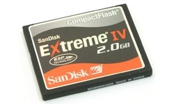 Sandisk Compact Flash Extreme IV 2GB