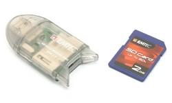 Emtec SD + Reader 2GB