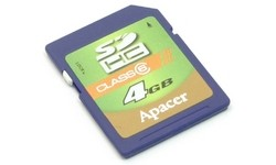 Apacer SDHC Class 6 4GB