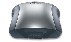 Logitech V320 Cordless Optical Mouse for Notebooks Silver