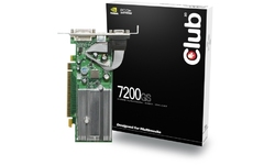 Club 3D GeForce 7200 GS 256MB