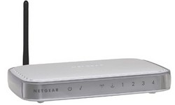 Netgear 108Mbps Super Wireless ADSL Modem Firewall Router