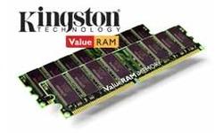 Kingston ValueRam 1GB DDR2-400 CL3 ECC kit