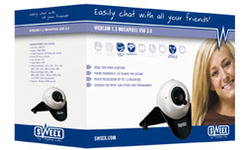 Sweex Webcam 1.3 Megapixel USB 2.0