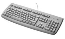 Logitech Deluxe 250 Keyboard White
