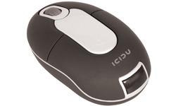 Icidu Wireless Optical Mini Mouse Black Suppressable RF
