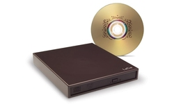 LaCie Portable DVD±RW with LightScribe design by Sam Hecht