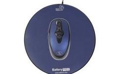 A4Tech Wireless Optical No Battery Mouse Blue/Black