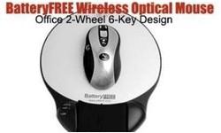 A4Tech Wireless Optical No Battery Mouse Black/Silver