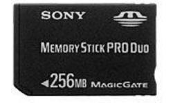 Sony Memory Stick Pro Duo 256MB