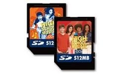 Lexar SD Disney High School Musical 2pk 512MB