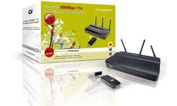 Conceptronic Wireless 300Mbps Broadband Starter pack