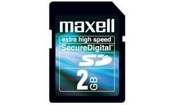 Maxell SD 150x Hi-Speed 2GB