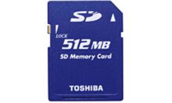 Toshiba SD 512MB