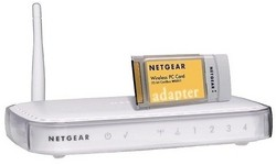 Netgear 54Mbps Wireless Router and PC Card kit