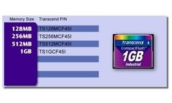 Transcend Compact Flash Industrial 45x 1GB