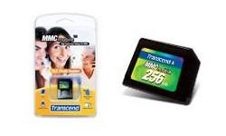 Transcend MMC Mobile 256MB