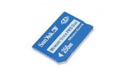 Sandisk Memory Stick Pro Duo 256MB