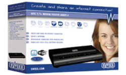 Sweex ADSL 2/2+ Modem/Router Annex A