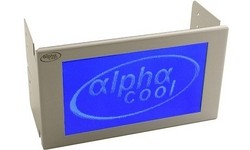 Alphacool LCD-Display 240x128 Blue Neg. Silver