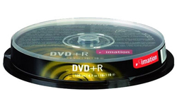 Imation DVD+R 16x 10pk Spindle
