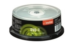 Imation DVD-R 16x 25pk Spindle