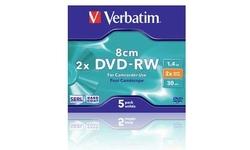 Verbatim DVD-RW 8cm 2x 5pk Jewel case