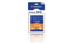 Verbatim DVD-R DL 8cm 8x 3pk Jewel case